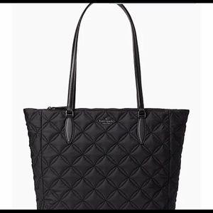 Kate Spade Jae Quilted Nylon Large Zip Bag